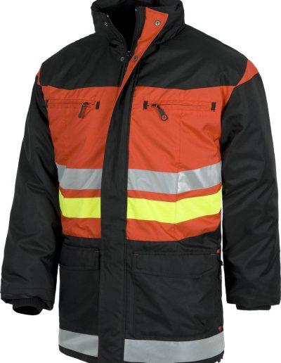Abrigo técnico C8107-NG_RJ, ropa laboral de seguridad