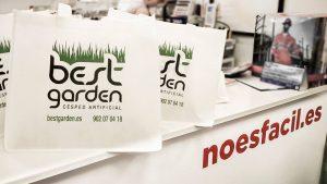 Bolsas serigrafiada para Best Garden