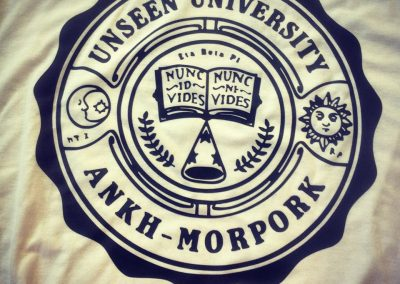 Camiseta serigrafiada de alta calidad